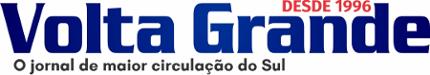 Logo Jornal Volta Grande - A Maior Circulação Semanal do Sul